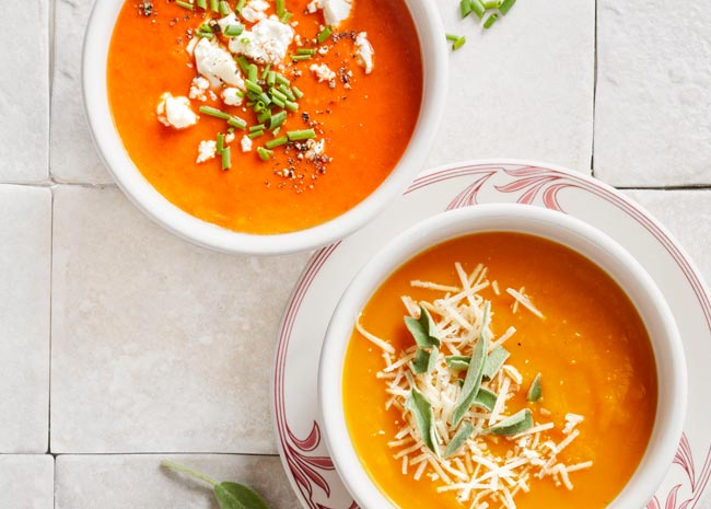 How to Make Hearty Homemade Fall Soups Under 125 Calories