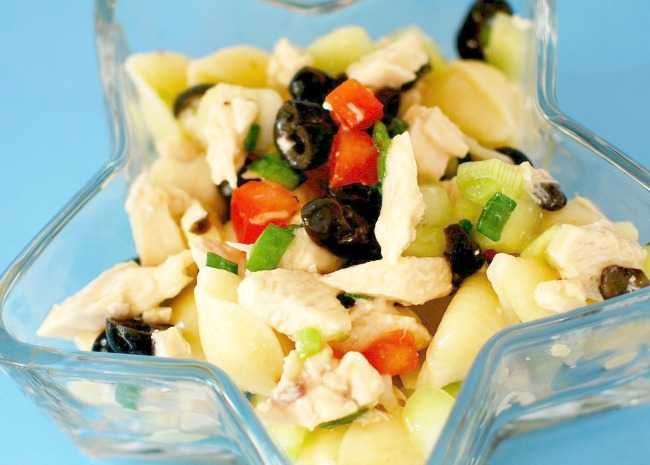 Chicken and Vegetable Pasta Salad