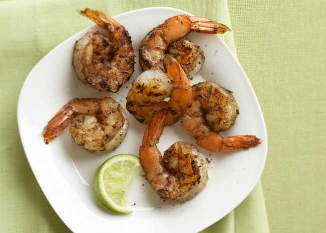 Grilled Tequila Lime Shrimp