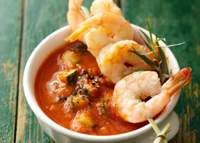 101585910 Shrimp Gazpacho Photo by Meredith 650x465