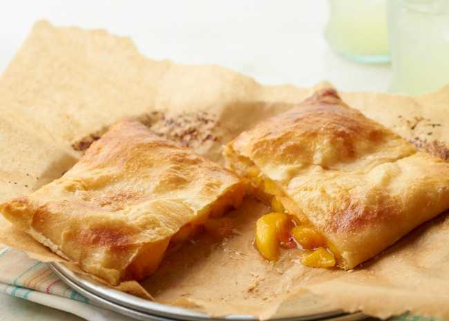 Peach Finger Pie