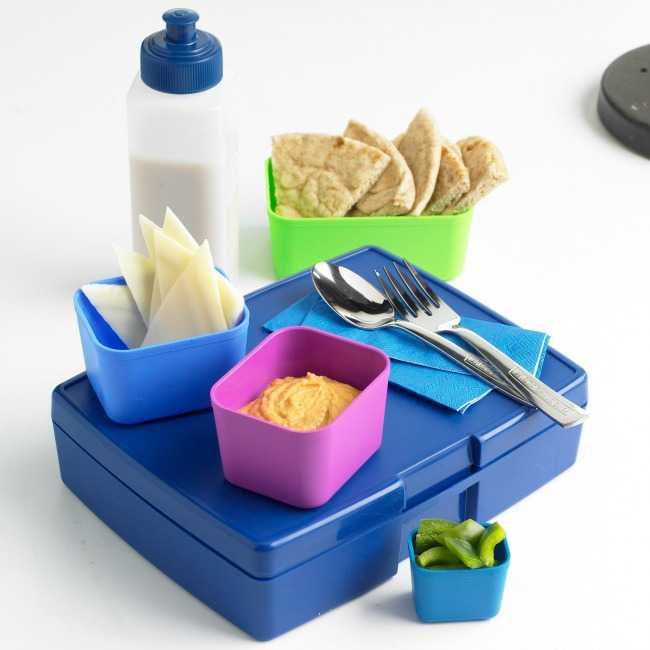 School lunch in waste-free packaging