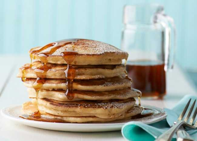 How to make the best pancakes from scratch allrecipes 3 tricks for ultra high rise pancakes ccuart Image collections