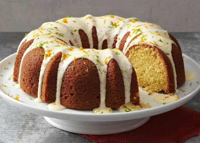 Triple Citrus Pound Cake
