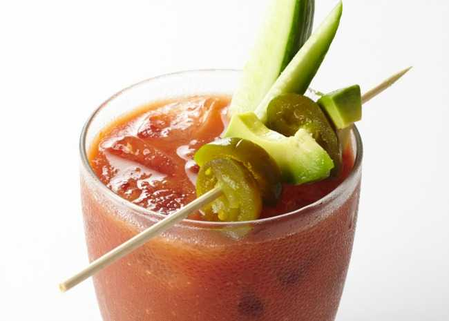 Bloody Mary with Pickles