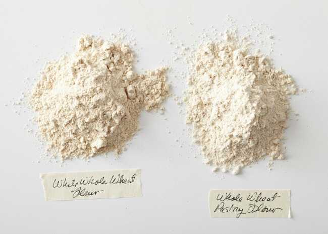 Whole Wheat Flour and Whole Wheat Pastry Flour