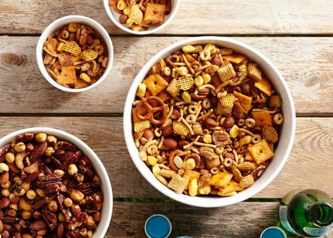 5 quick and easy snack mixes thatll make your party allrecipes snack mix ccuart