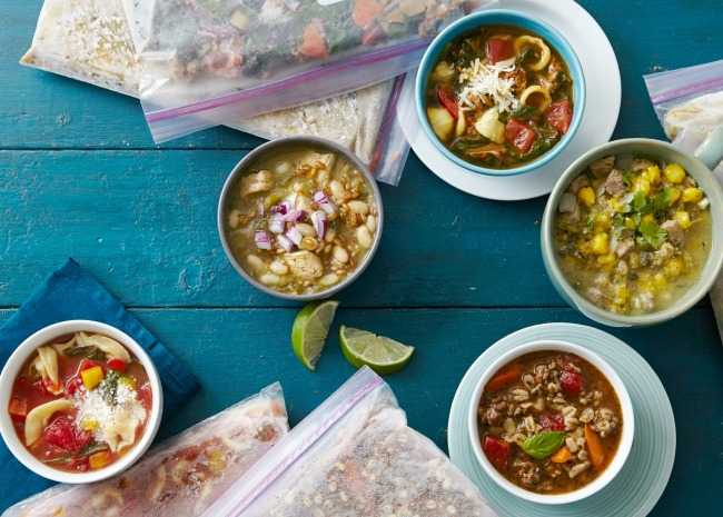 Make and Freeze Soups