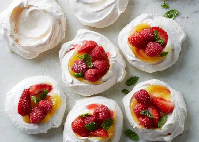 Meringue Crusts
