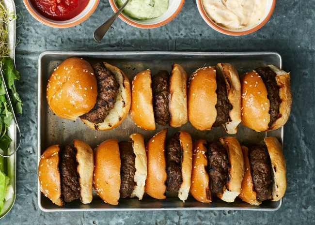 Sliders Mini Burgers