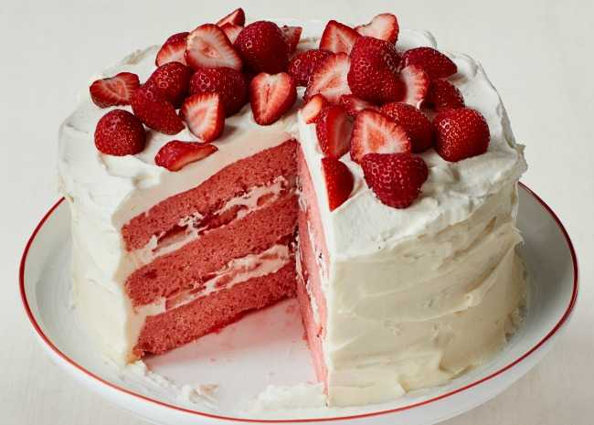 Allrecipes Strawberry Cake From Scratch