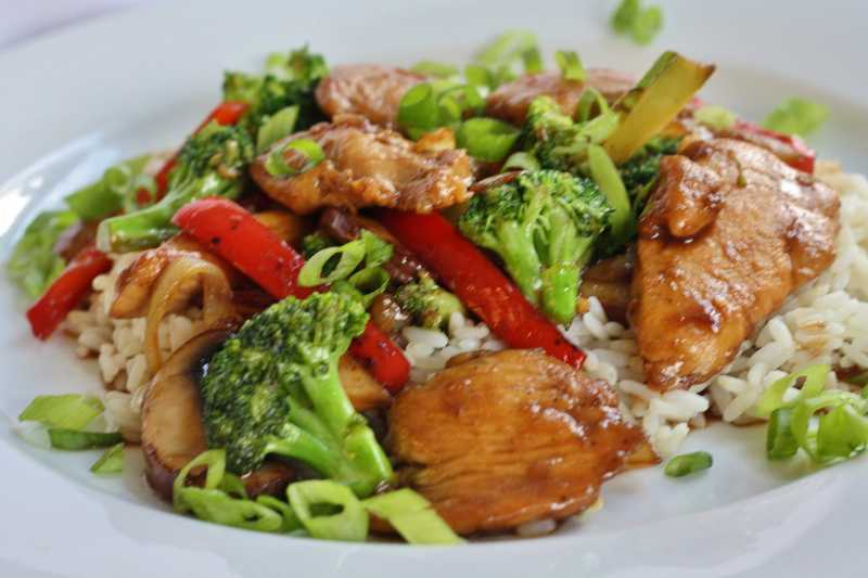 Stir-Fry Chicken and Broccoli