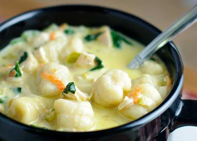 Chicken and Gnocchi Soup