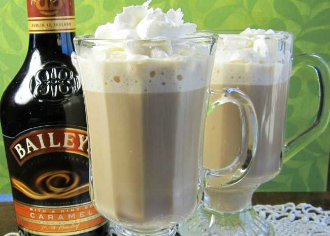 Irish Cream and coffee