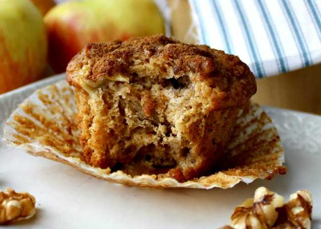 apple pie muffins