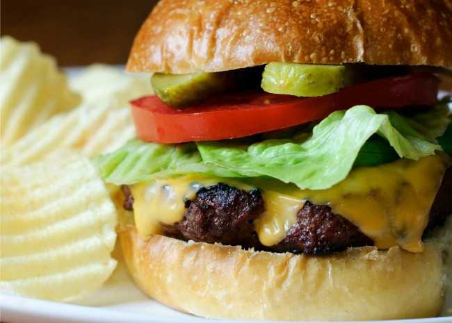 Juicy Lucy Burgers