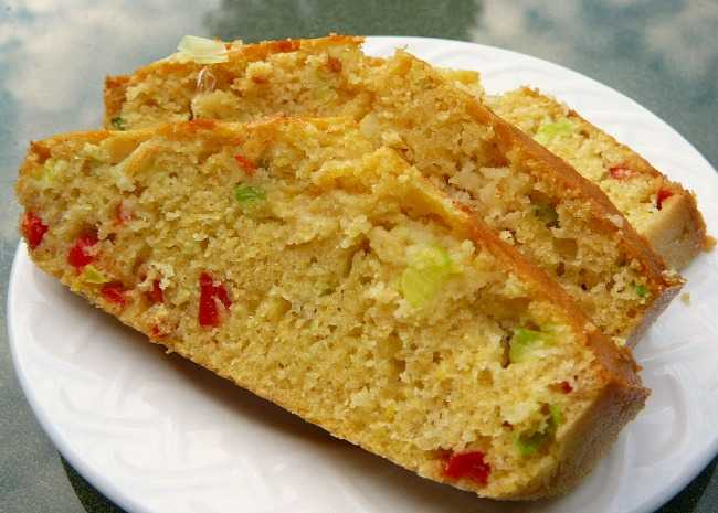 Jalapeno Green Onion Ale Corn Bread