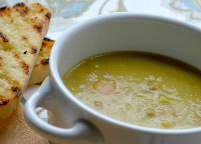 Ham and Split Pea Soup Recipe