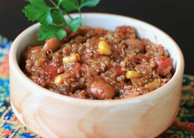 Quick Quinoa Chili
