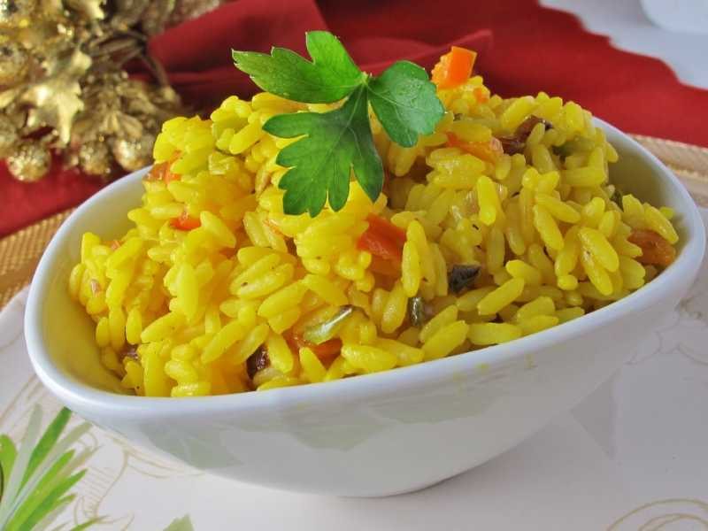 Cindy's Yellow Rice