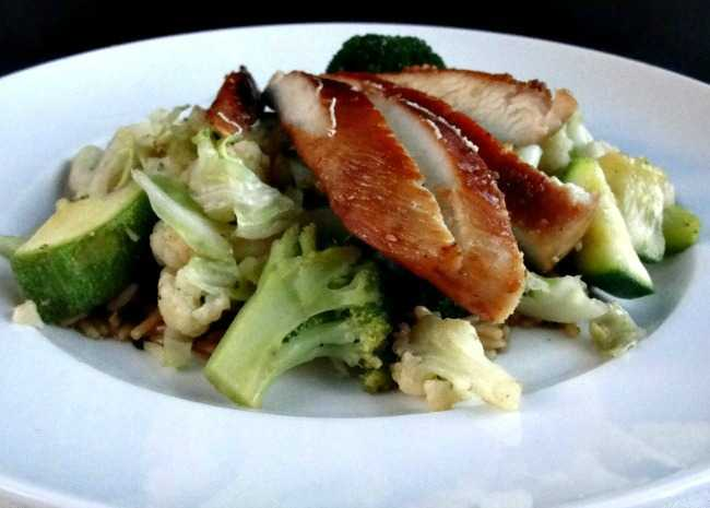 Vegetables and Cabbage Stir-Fry with Oyster Sauce