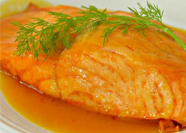 Orange Salmon II