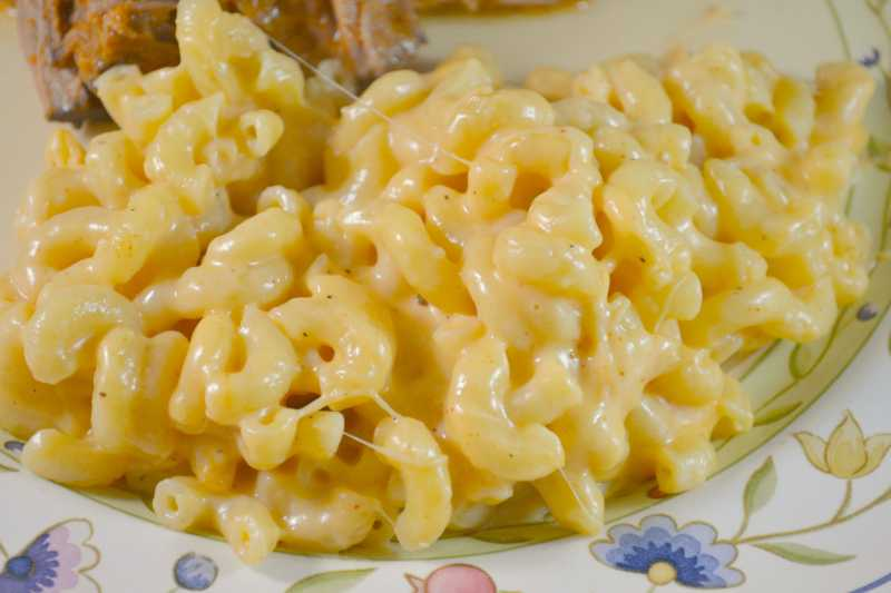 Easy Rice Cooker Mac 'n Cheese