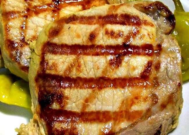 Pork Chops with Dill Pickle