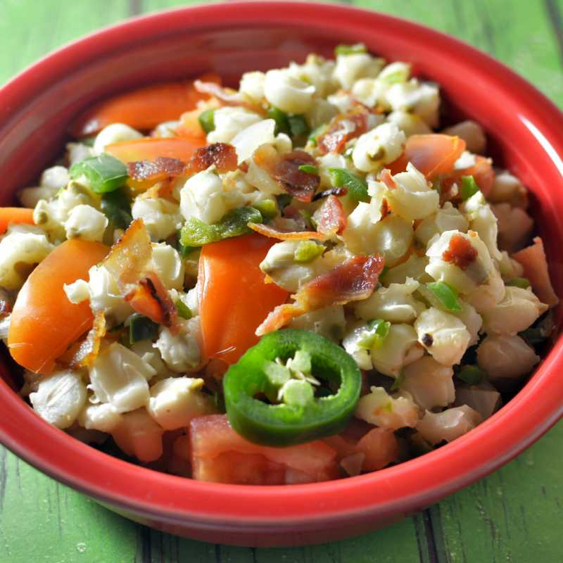 Dave's Spicy Hominy