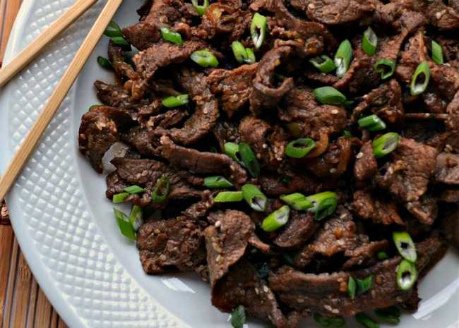 Favorite korean foods for your winter olympics party allrecipes easy bulgogi korean bbq beef forumfinder Gallery