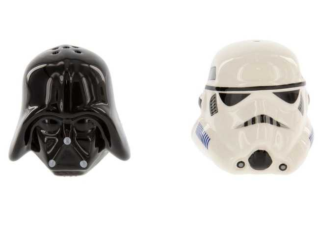 Star Wars Ceramic Salt and Pepper Shakers