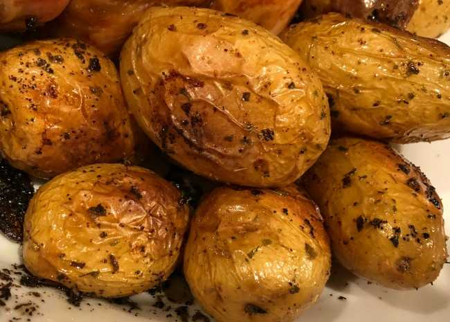 Instant Pot® Garlic Roasted Potatoes