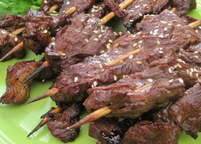 Steak on a Stick
