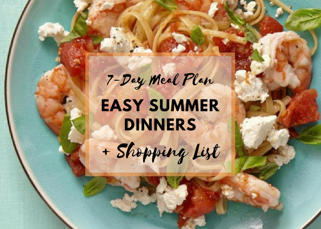 A Week of Easy Summer Dinners
