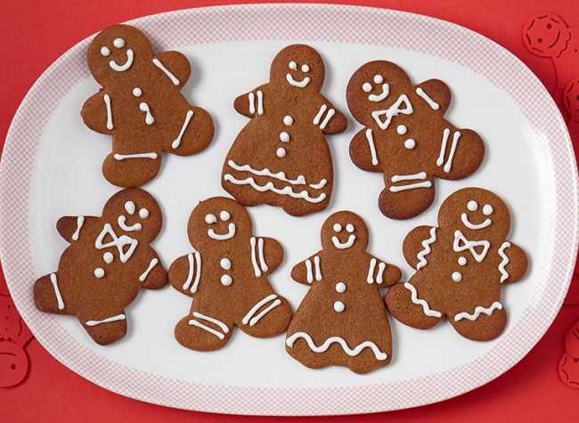Eileen's Spicy Gingerbread Cookies