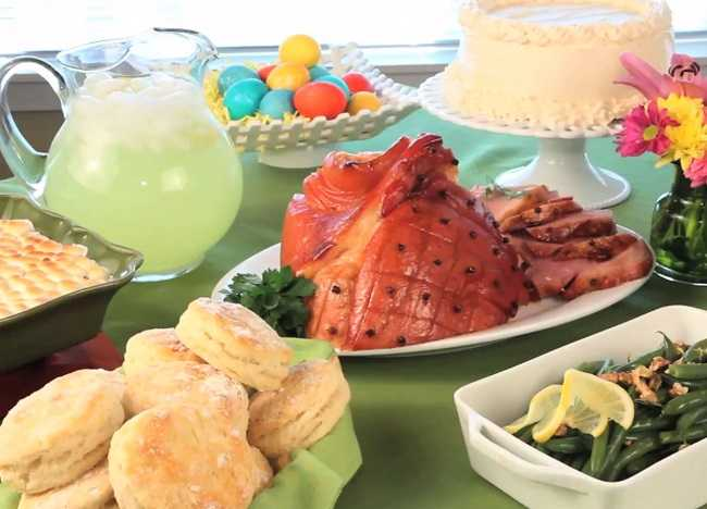 how to create a simple but special easter buffet allrecipes rh dish allrecipes com easter buffet menu recipes easter lunch buffet recipes