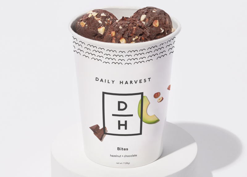 Daily Harvest Bites Hazelnut + Chocolate