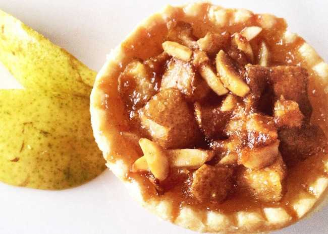 d'Anjou Pear and Almond Tarts