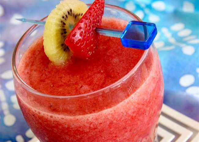 Strawberry-Kiwi Slush