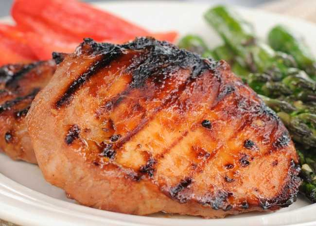 Southwestern Sweet Grilled Pork Chops