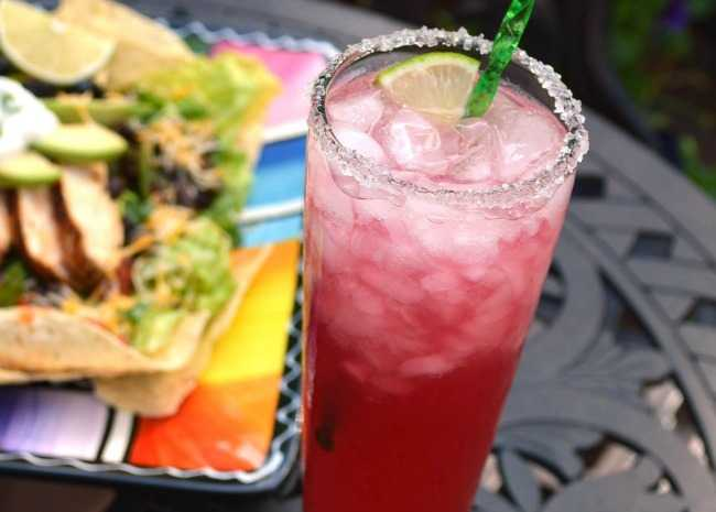 Prickly Pear Cactus Margarita