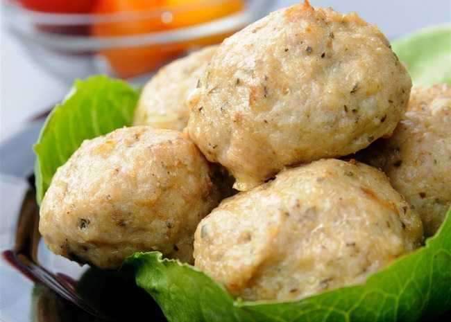 Cheesy Chicken Meatballs