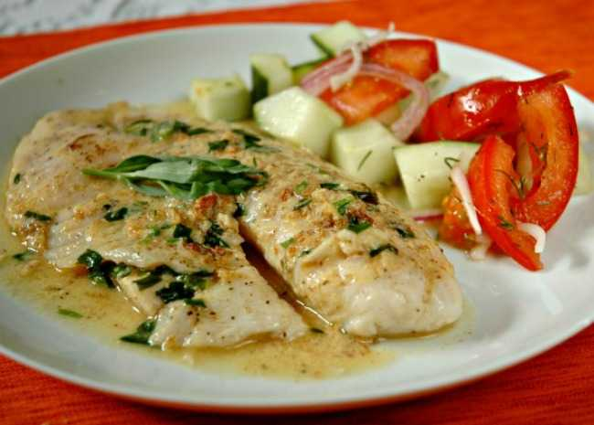 Dijon-Tarragon Cream Chicken