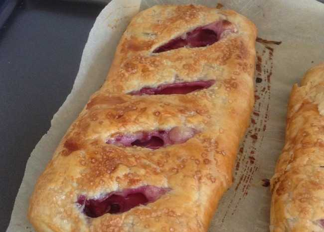 Black Walnut and Cherry Strudel