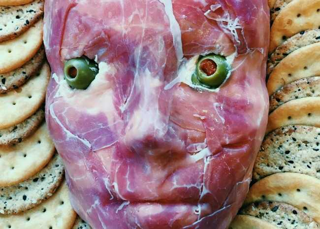 Flayed Man Cheese Ball