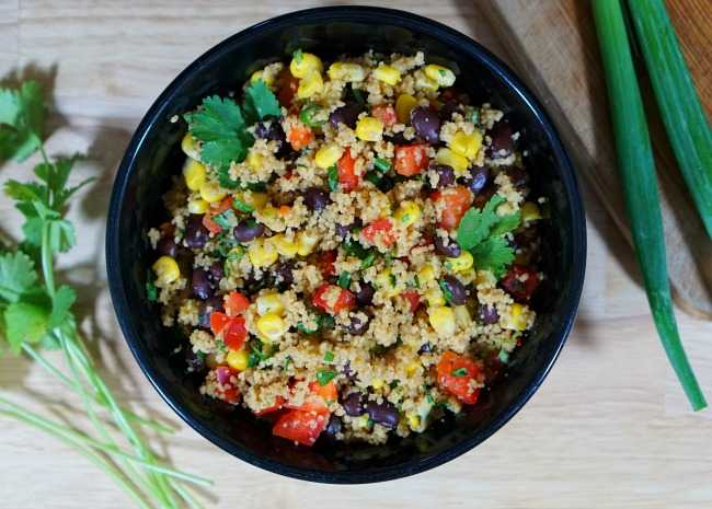Blackbean and Couscous Salad