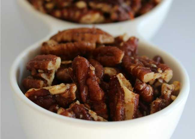 Candied Pecan Bits