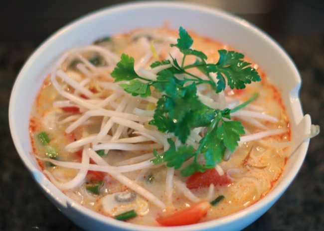 Best Thai Coconut Soup