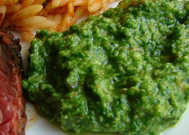 Chef John's Almond Arugula Pesto