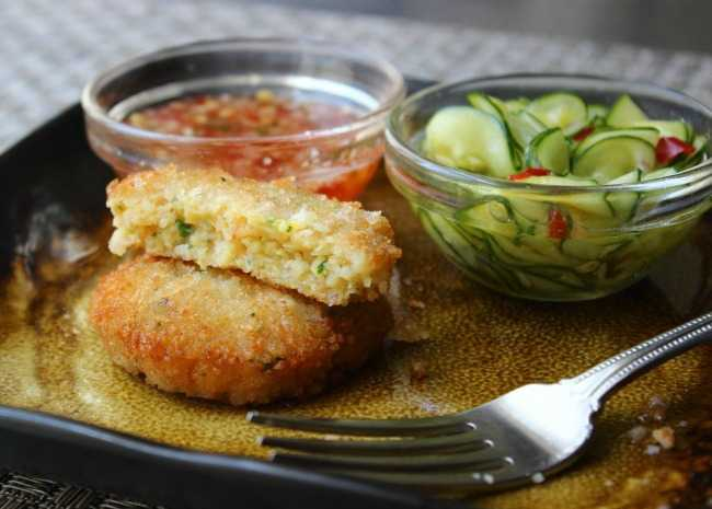Spicy Shrimp Cakes